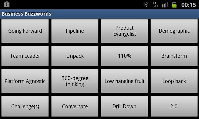 Business Buzzwords Screenshot 3