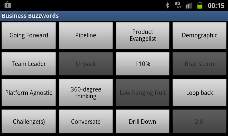Business Buzzwords Screenshot 4