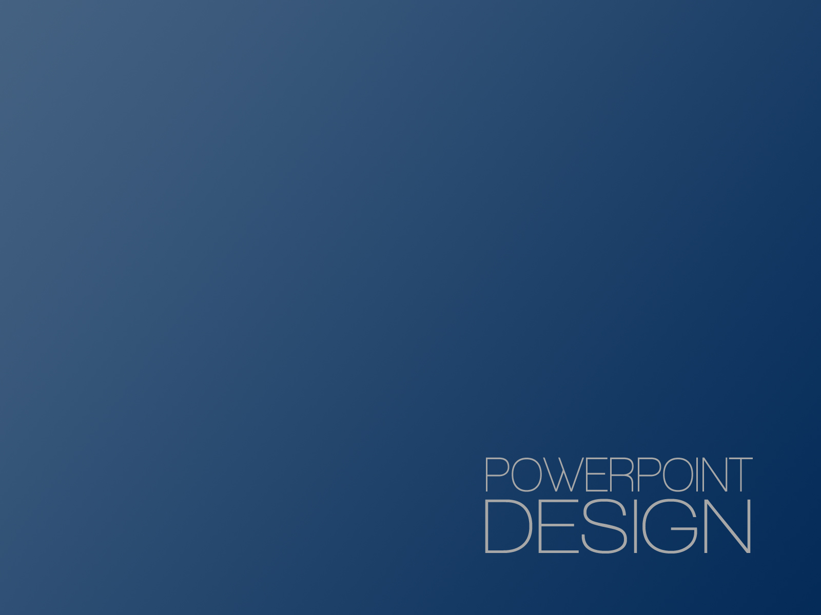 PowerPoint Design – 1 -Title