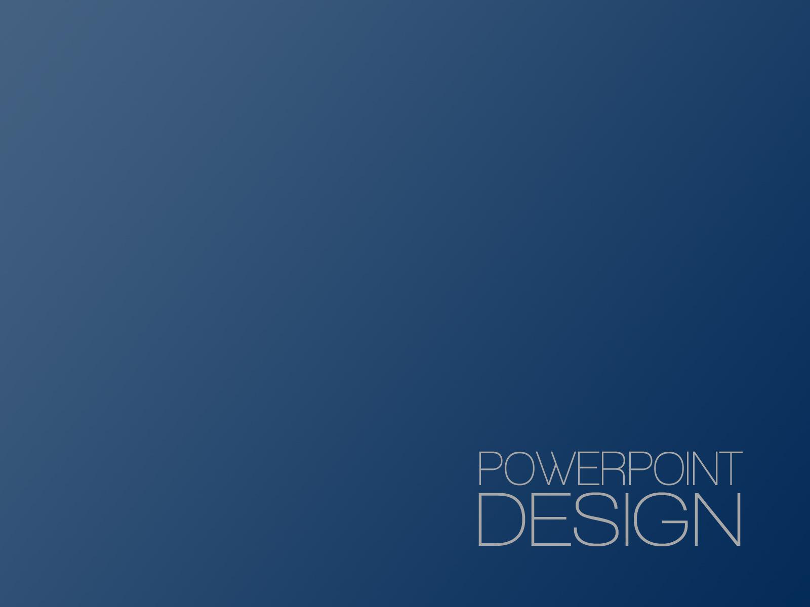 PowerPoint Design – 1 -Title