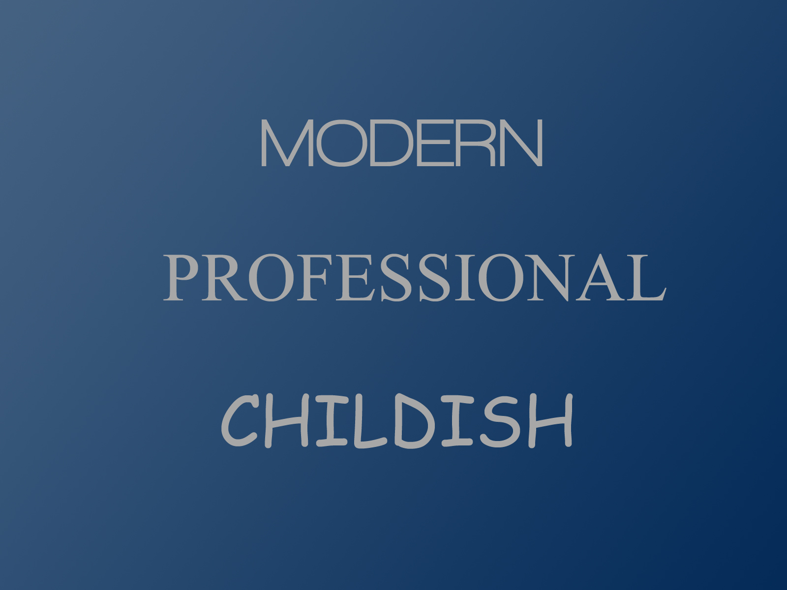 PowerPoint Design – 4 – Fonts